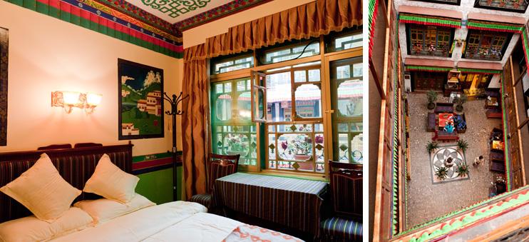 Lhasa, Tibet, Tashi Choten Hotel